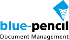 Blue-Pencil Information Management Inc. Logo