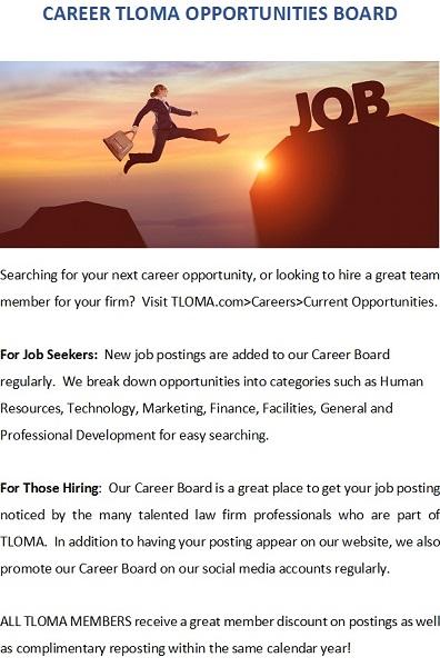 TLOMA - Career Board HalfPage