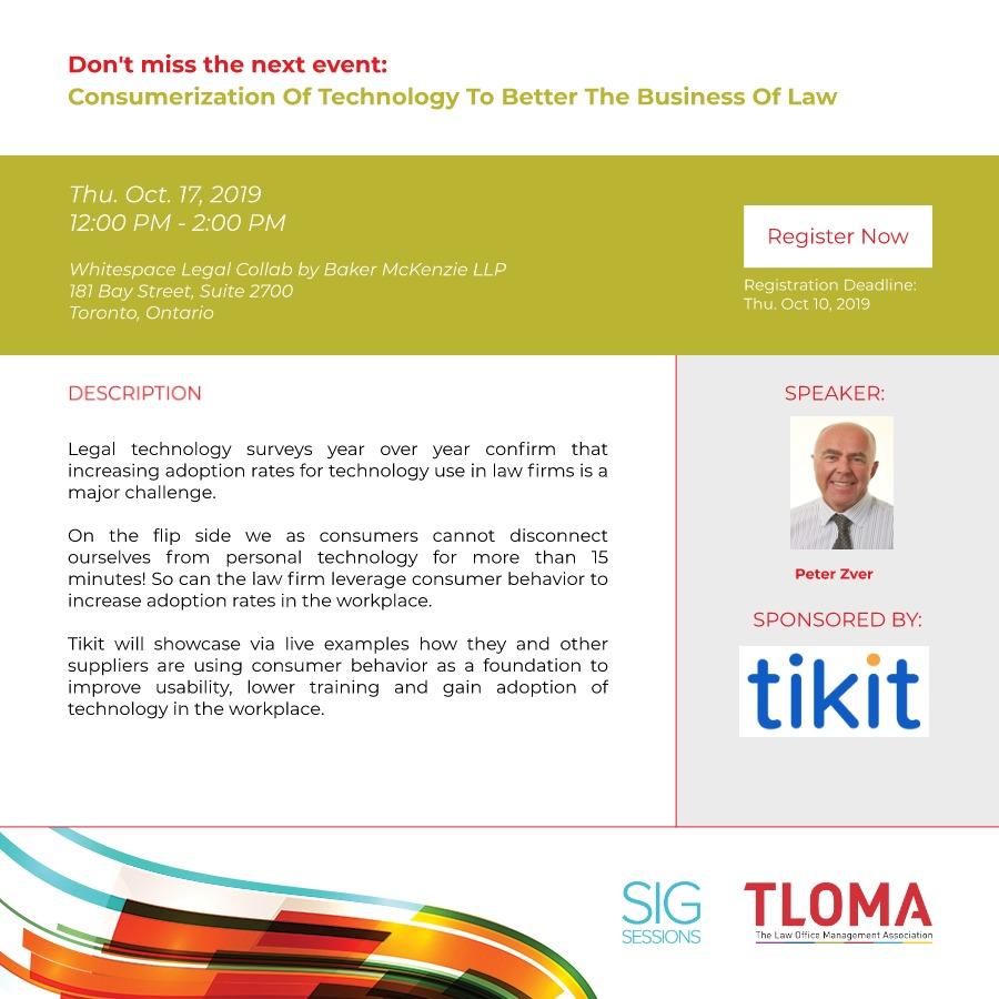 Tikit - Interruption Ad - October Newsletter