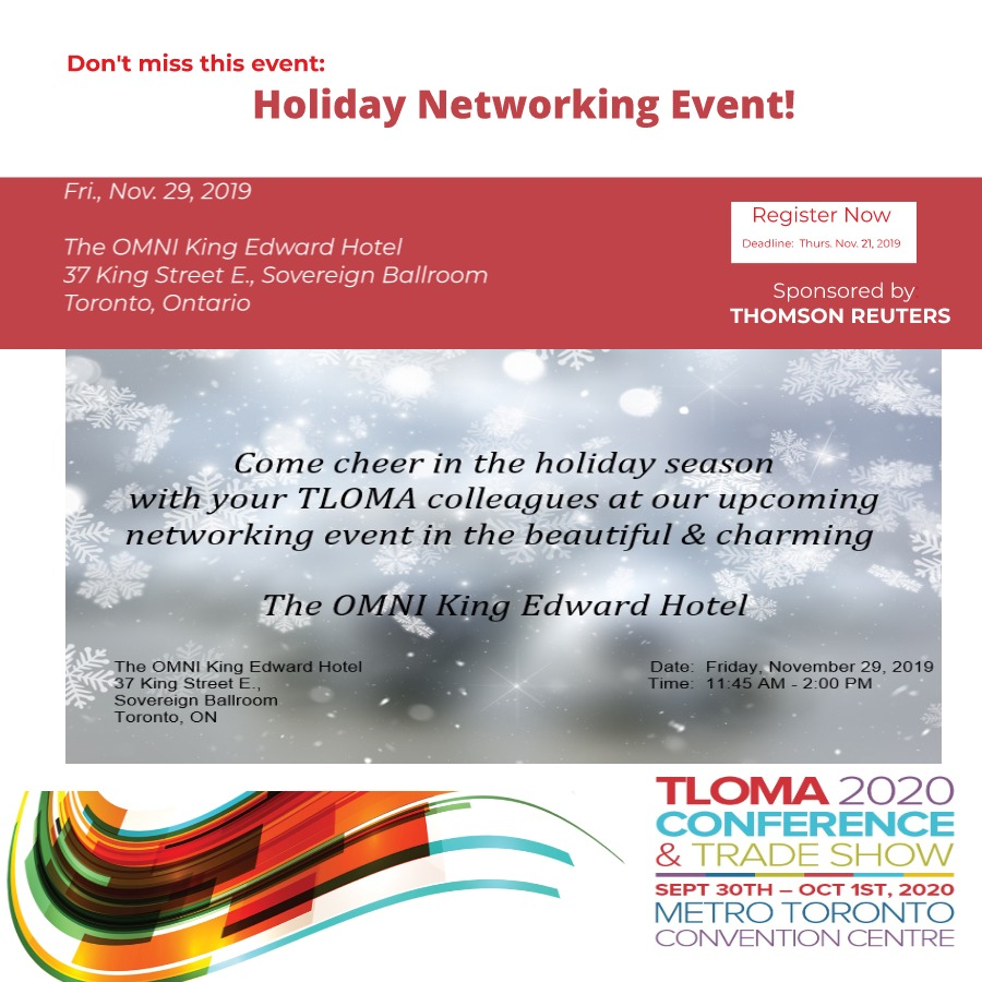 Holiday Networking Event - Nov. 29, 2019