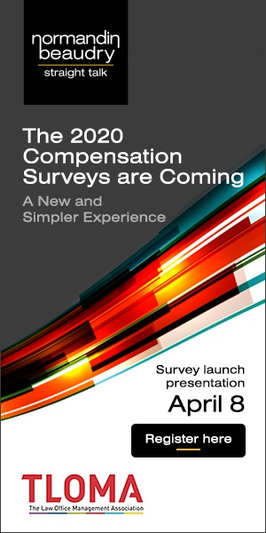 Normandin Beaudry - 1/2 page ad for Compensation Survey Launch HalfPage