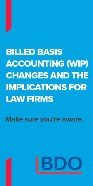 """BDO Canada LLP - Red Carpet Event - """"Tax Changes for Law Firms"""" - Jan. 12, 2018 HalfPage"""