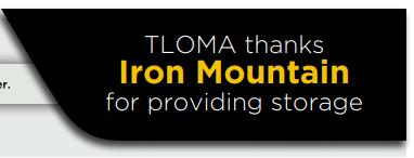 Iron Mountain - Thank you HalfPage