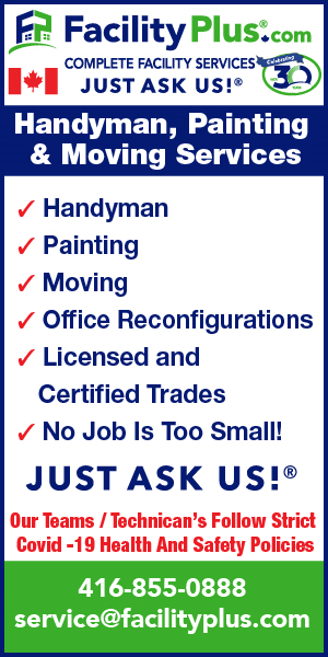 Facility Plus - Golden Ticket & 9 to 5 - Handyman ad - Nov 11/20 - May 11/20 Home Page HalfPage