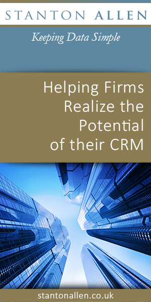 Stanton Allen - Red Carpet Event - Everything You Wanted To Know To Ensure a Productive and Successful CRM Adoption within Your Firm - Marketing SIG - April 5, 2018 HalfPage