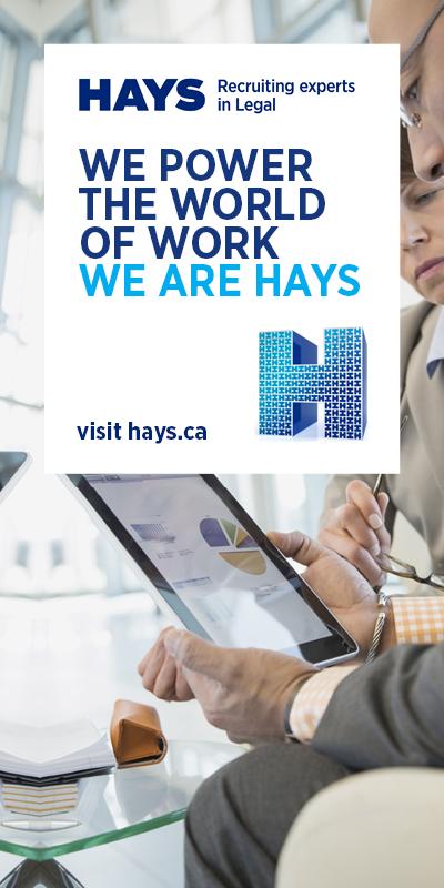 HAYS Specialist Recruitment Canada Inc. - HR Event Sponsor 28feb17 HalfPage